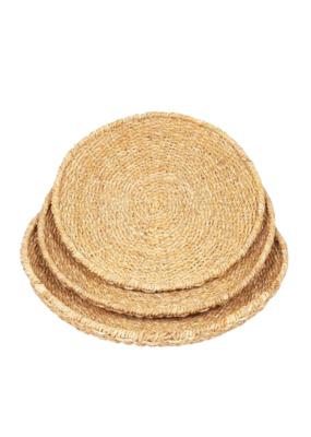 Round Seagrass Bowl