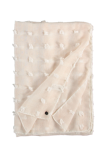 Fraas Textured Solid Scarf Off White