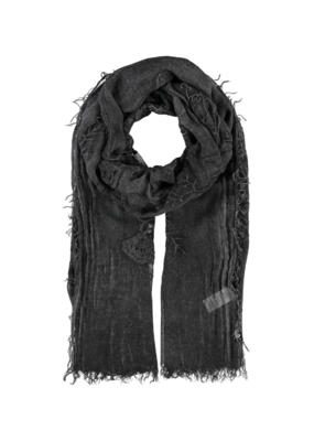 Fraas Evening Garden Scarf Black