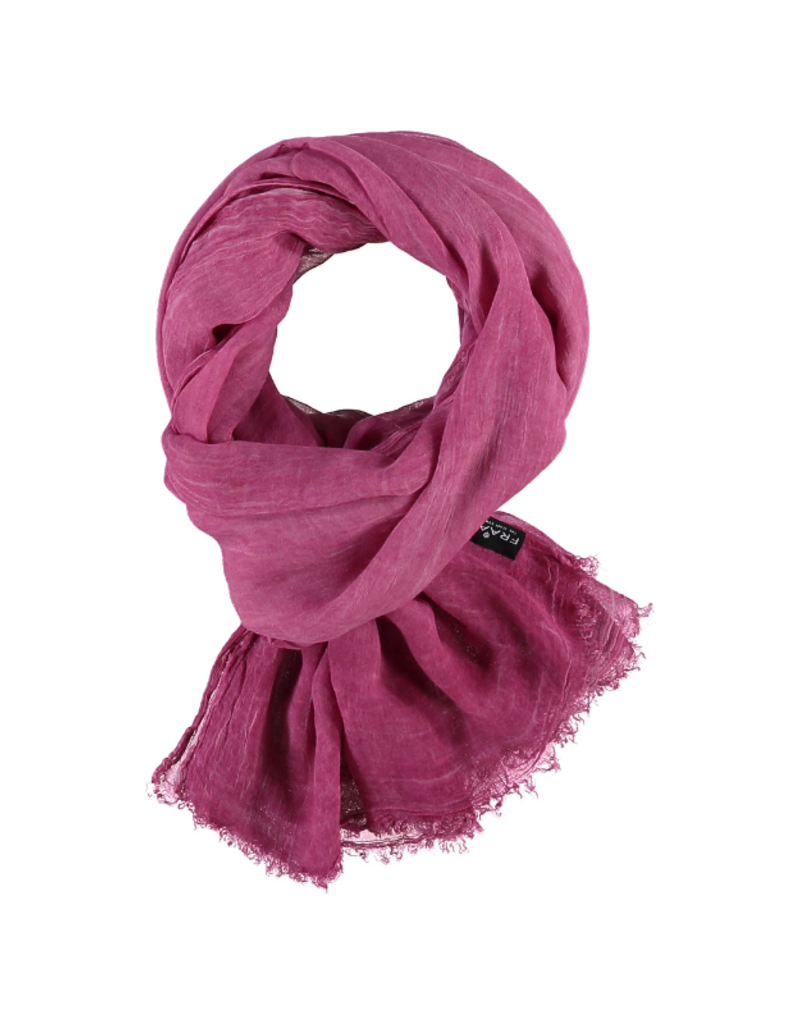 Fraas Solid Viscose Scarf Pink