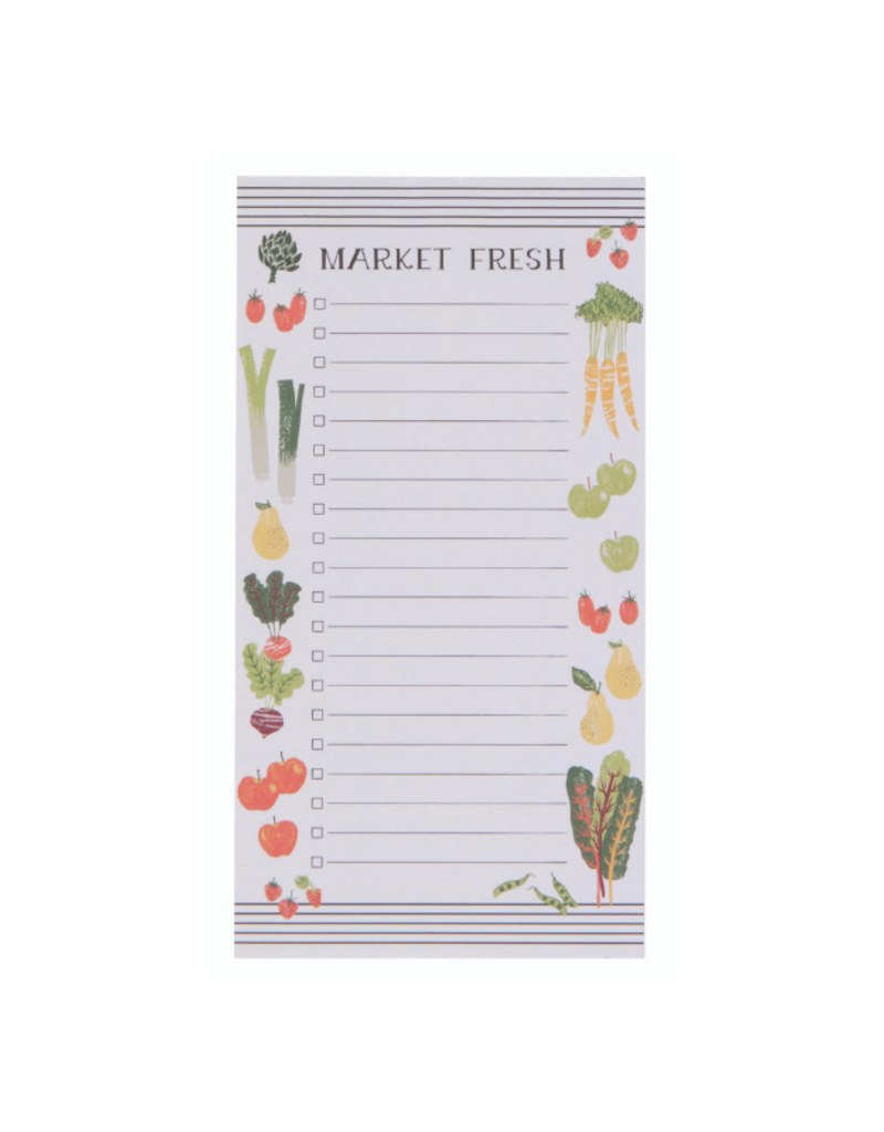 Farmers Market Magnetic Notepad