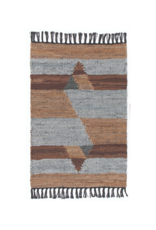 Rowan Leather Chindi Rug 2'x3