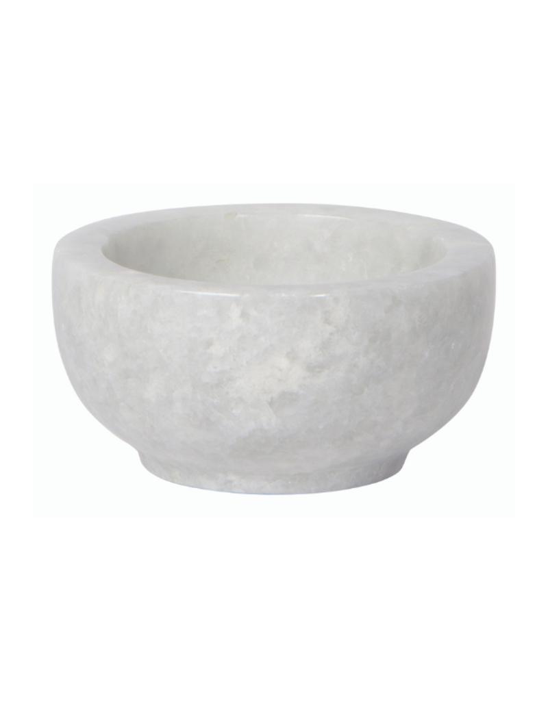 Danica Marble Bowl White