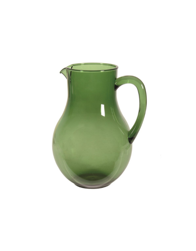 Acrylic Green Pitcher