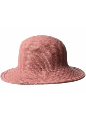 Cotton Crochet Hat in Rose by San Diego Hat Company
