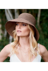 San Diego Hats Packable Cloche Hat in Brown by San Diego Hat Company