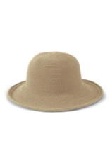 San Diego Hats Cotton Crochet Hat in Natural  by San Diego Hat Company