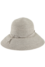 San Diego Hats Packable Cloche Hat Grey
