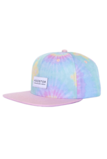 HEADSTER Tie Dye Pink Snapback Hat by Headster