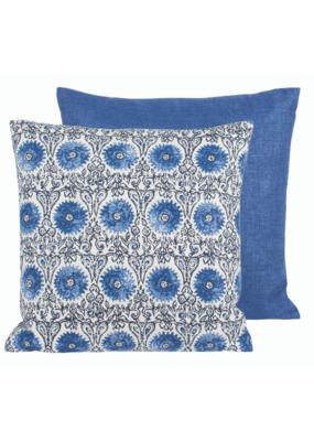 """Indigo Indoor/Outdoor Pillow 18"""""""
