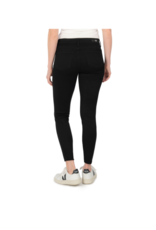 Kut from the Kloth Connie High Rise with Fab Ab & Ankle Frey in Black by Kut from the Kloth