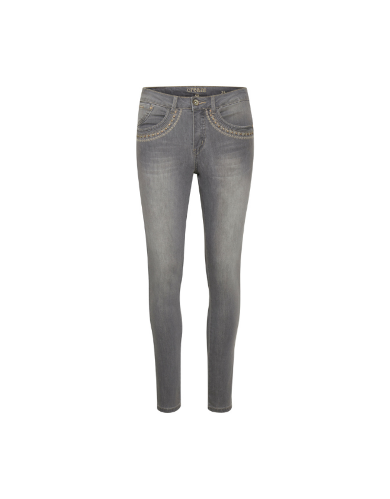 Cream Herdis Light Grey Jeans with Shape Fit by Cream