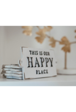 Indaba Trading This Is Our Happy Place Cast Iron Sign