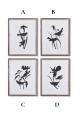 Napa Home & Garden Bird Silhouette Art Prints