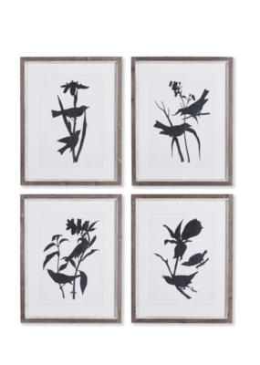 Napa Home & Garden Bird Silhouette Art Prints