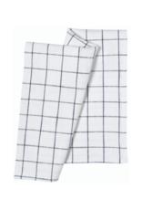 Danica Set of 2 Vintage Heirloom Midnight Tea Towels