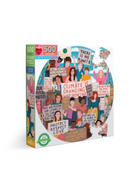 Climate Action 500 Piece Round Puzzle