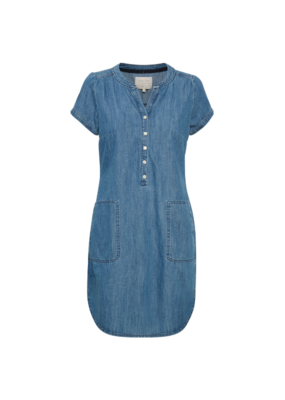 Part Two Aminas Dress in Blue Denim by Part Two