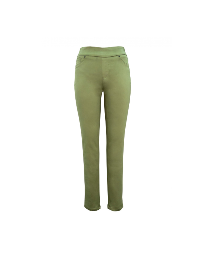 Basic Jean Pant in Army by Up!