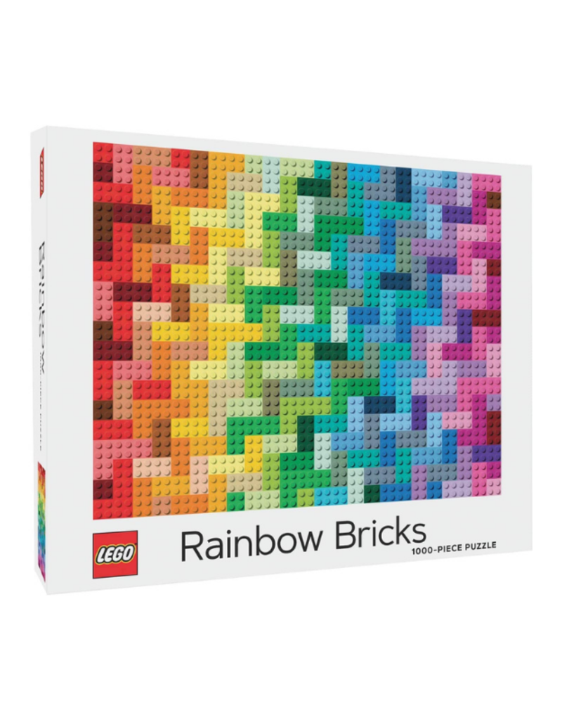 Lego Rainbow Bricks Puzzle