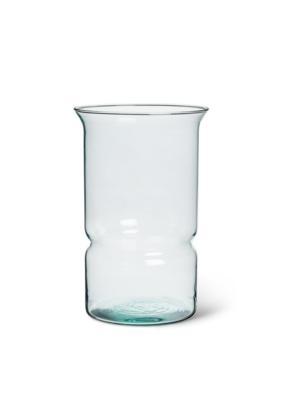 Classic Hurricane Recycled Vase