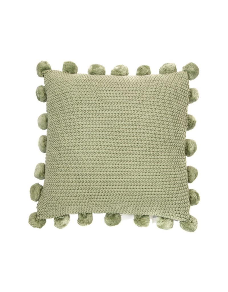 PomPom Sage Pillow