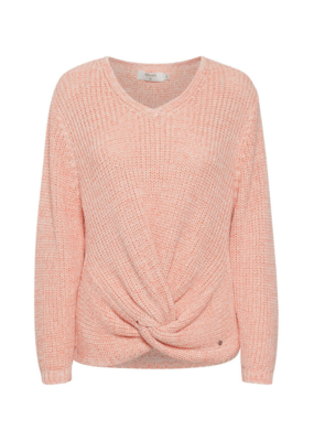 Annolina Knit Sweater in Peach Echo Melange by Cream