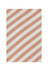 ICHI Imara Top in Caramel Stripe by ICHI