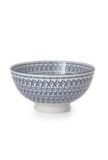 Kiri Bowl Blue Stitch Medium