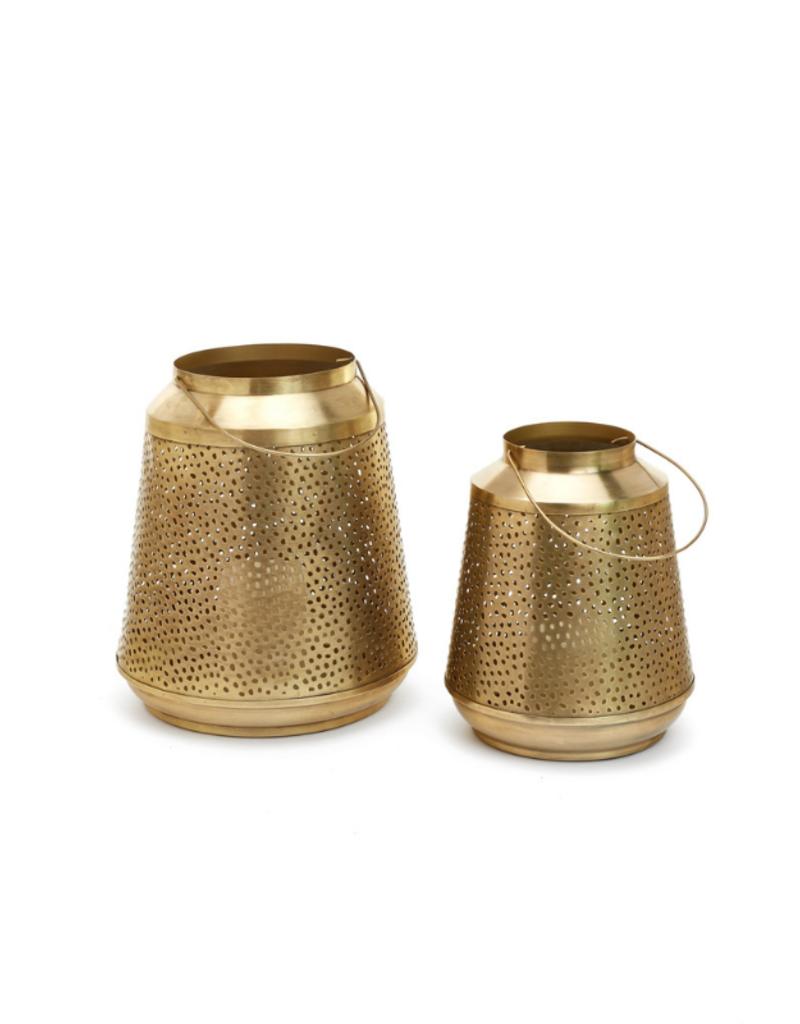 Metal Lantern Antique Brass