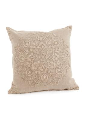 Beauvillon Cotton Pillow Beige