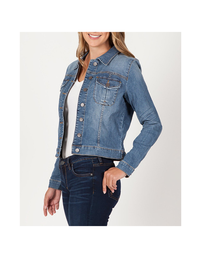 Kut from the Kloth Amelia Jacket in Empathetic Wash by Kut from the Kloth