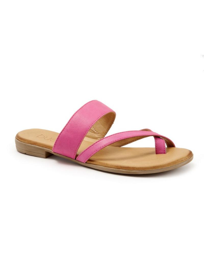 Bueno Jackson Sandal in Fuschia Leather by Bueno