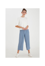 ICHI Marrakech Casual Pant in Coronet Blue by ICHI