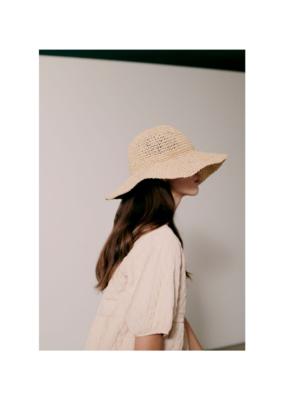 ICHI Ninna Hat in Tan by ICHI