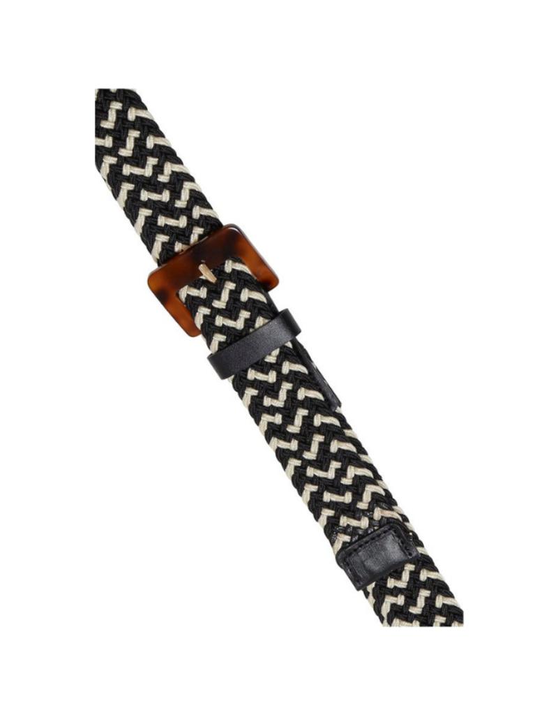 ICHI Tanyia Belt in Black by ICHI