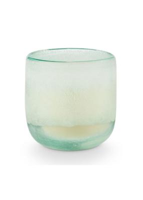 Illume Fresh Sea Salt  Mojave Glass Candle Medium