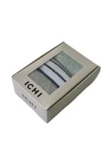 ICHI Kari Sock Box 3 Pack by ICHI