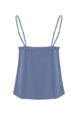 ICHI Citro Sleeveless Top in Coronet Blue by ICHI