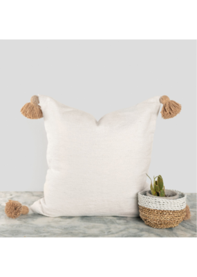 "Moroccan Pillow 20x20"" in Coco Pom"