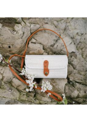 Rectangular Bali Bag in White