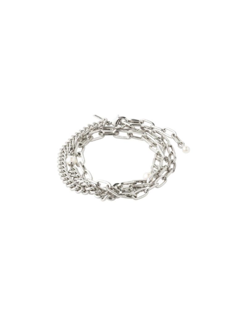 PILGRIM Enchantment  Bracelet Silver-Plated by Pilgrim