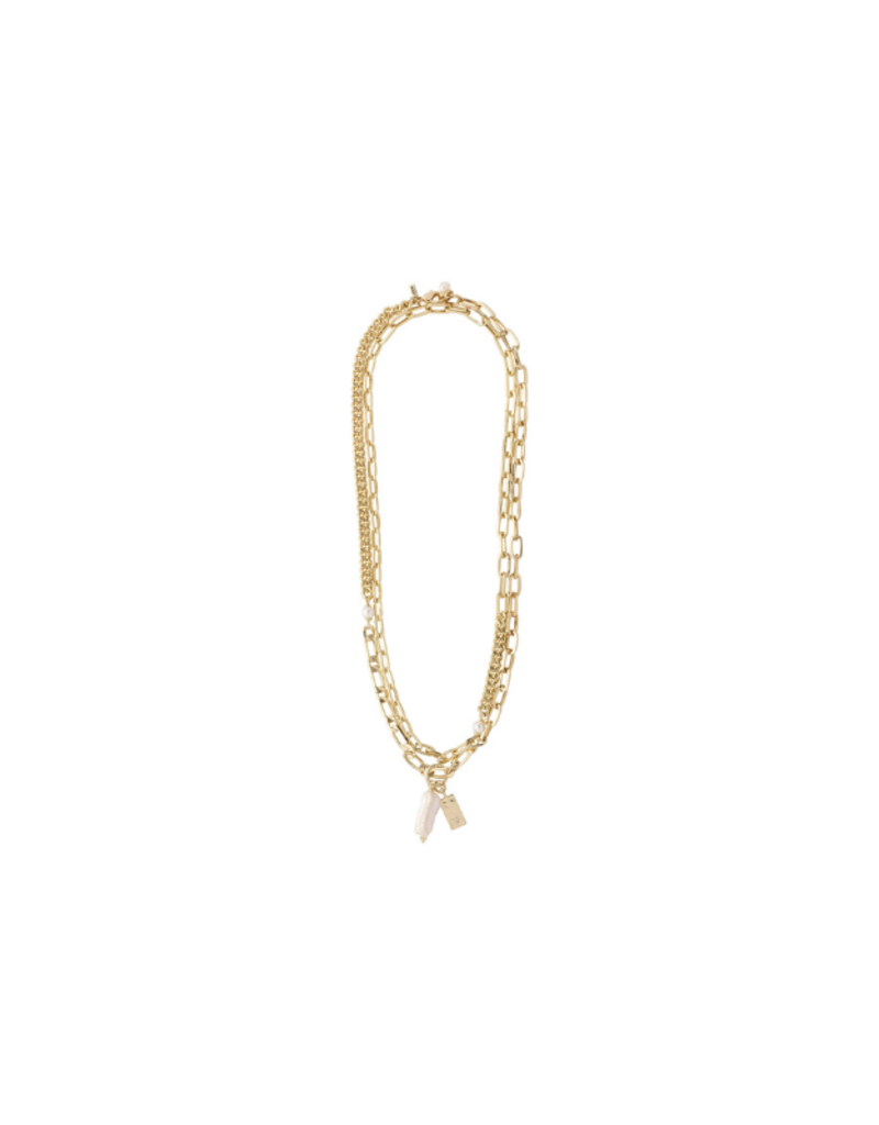 PILGRIM Enchantment  Necklace Gold-Plated by Pilgrim