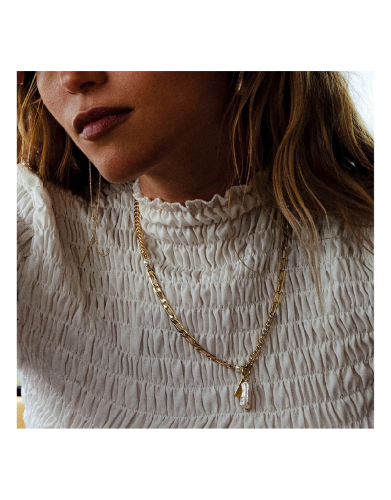 PILGRIM Enchantment  Necklace Gold-Plated by Pilgrim