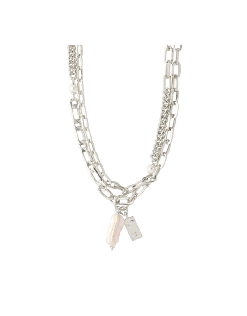 PILGRIM Enchantment  Necklace Silver-Plated by Pilgrim