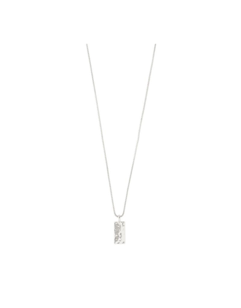 PILGRIM Enchantment Necklace with Crystals Silver-Plated by Pilgrim