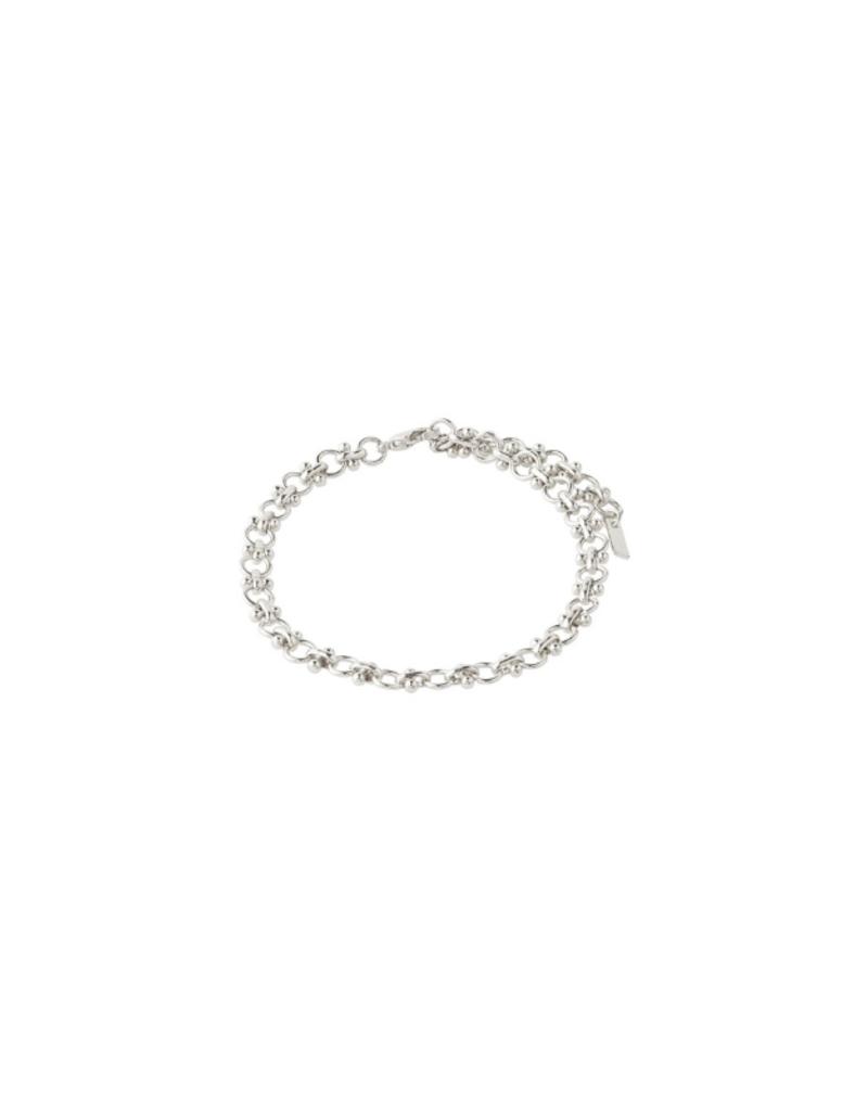 PILGRIM Nomad Bracelet Silver-Plated by Pilgrim