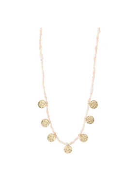 PILGRIM Nomad Rose Necklace Gold-Plated by Pilgrim