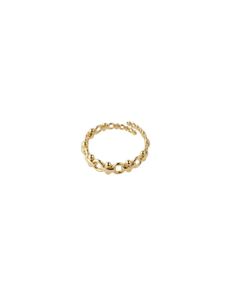 PILGRIM Nomad Ring Gold-Plated by Pilgrim