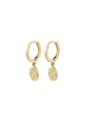 PILGRIM Nomad Earrings Gold-Plated by Pilgrim